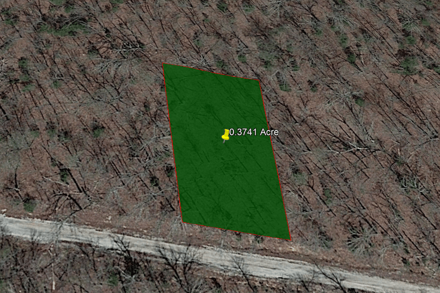 0.37 ACRE LOT IN IZARD COUNTY, ARKANSAS!