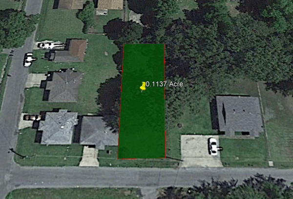SOLD - 0.11 ACRE LOT IN JEFFERSON COUNTY, AR!