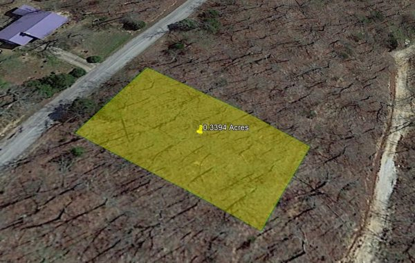 SOLD-0.34 ACRE LOT IN IZARD COUNTY, ARKANSAS!