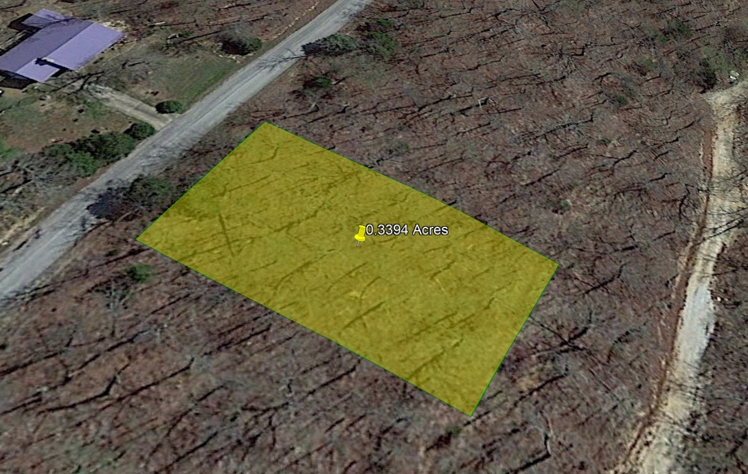 SOLD-0.34 ACRE LOT IN IZARD COUNTY, ARKANSAS!