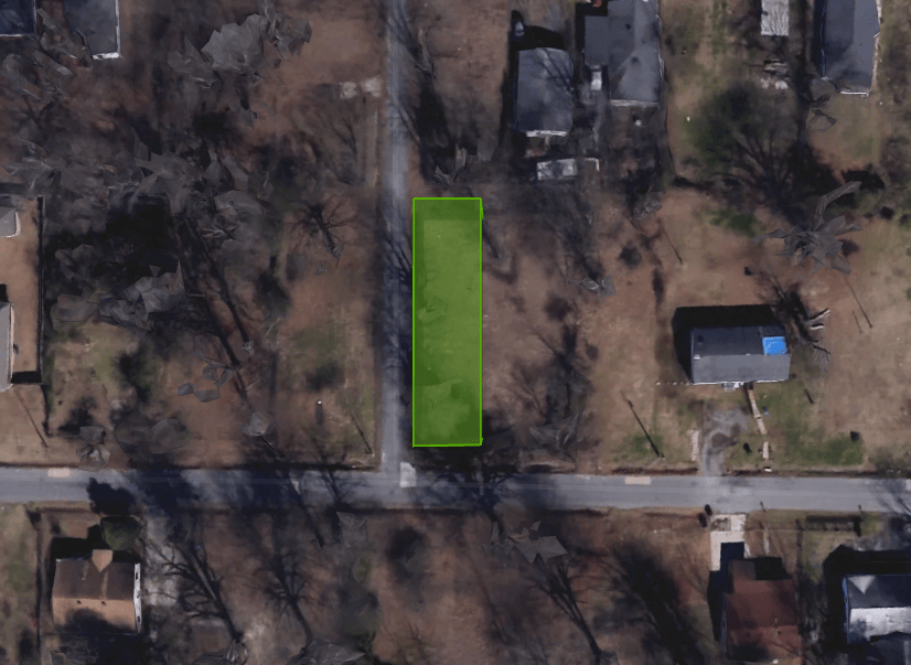 0.11-acre close to a Lake in Pine Bluff AR!