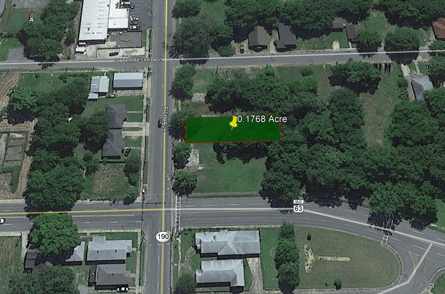 0.18 ACRE LOT IN JEFFERSON COUNTY, AR!
