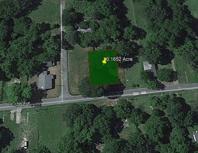 Sold - 0.17 ACRE LOT IN JEFFERSON COUNTY, AR!