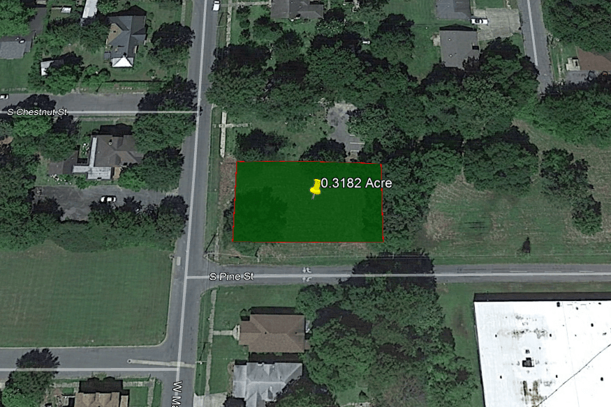 SOLD-0.32 ACRE LOT IN JEFFERSON COUNTY, ARKANSAS!
