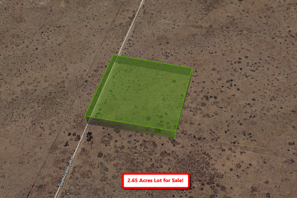 2.65-acre in Navajo County, AZ! Live off-grid here!