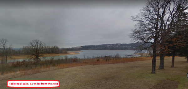 Wooded Lot at Culdesac, 0.6856 Acres in Taney County!