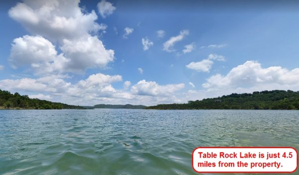 Lot of Trees, Miles of Table Rock Lake!